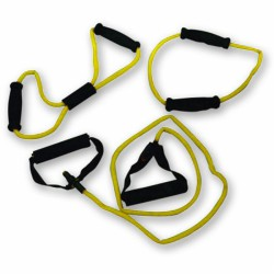 Tunturi fitnesz kötél szett 3 db-os sárga, könnyű Sportszer Tunturi