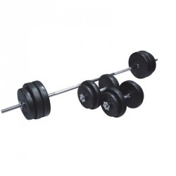Robust 50 kg-os súlyzókészlet Sportszer Robust