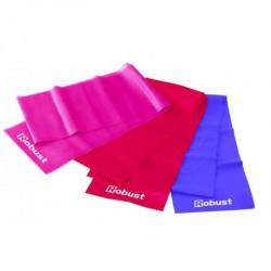 Robust fitnesz szalag gyenge ellenállás rózsaszín Fitnesz szalagok Robust