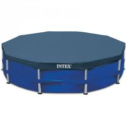 Medence takaró Intex 366 cm szögletes Medence védőtakaró Intex