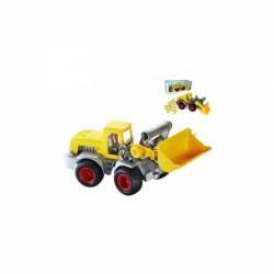 ConsTruck homlokrakodó - WADER Munkagép játékok Wader