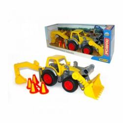 ConsTruck markoló - WADER Munkagép játékok Wader