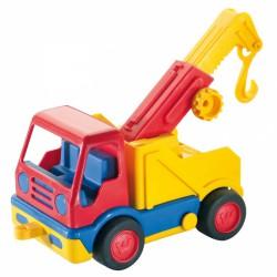Basic vontató autó - WADER Munkagép játékok Wader