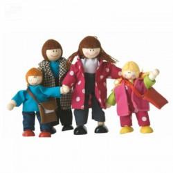 Fa figurák babaházhoz WOODY Egyéb játékok Woody