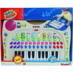 Állathangos piano Billentyűs zenélő játékok