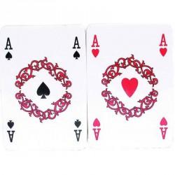 Francia kártya celofánban 2x55 lapos Kártya játékok