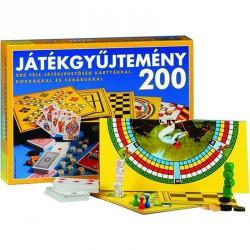 Játékgyüjtemény Szórakoztató játékok