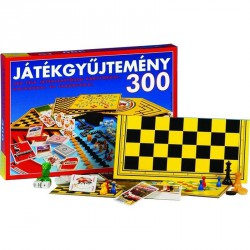 Játékgyüjtemény 300 Szórakoztató játékok
