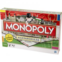 Monopoly Magyarország társasjáték Stratégiai játékok