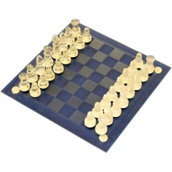 Üveg sakk 35 cm Játék