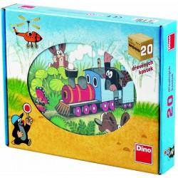 Fa mesekocka 20db Kisvakond Készségfejlesztő játékok