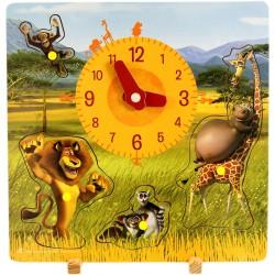 Madagaszkár 2 játékóra kivehető figurákkal Egyéb játékok