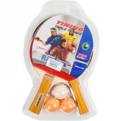 Pingpong szett labdával Ping-pong szett