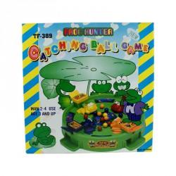 Éhes békák társasjáték Szórakoztató játékok 4M