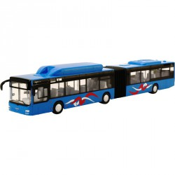 Busz 1:43 MAN kék Fém autók 4M