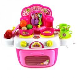 Rózsaszín kiskonyha Gyermek bútorok