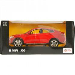 Fémautó 1:24 BMW X6 Fém autók Rastar