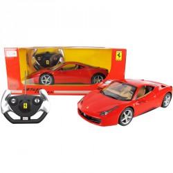 Távirányítós autó 1:14 Ferrari 458 Italia akkus Játék Rastar