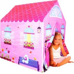 Kislány házikó (95x72x102 cm) Gyerek sátor iPlay