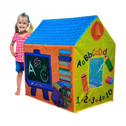 Iskolás házikó (95x72x102 cm) Gyerek sátor iPlay