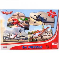 Puzzle 4x54 db - Repcsik Puzzle Dino
