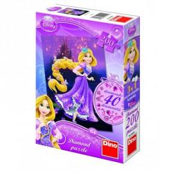 Puzzle 200 db  - Csillogó Aranyhaj hercegnő Puzzle Dino