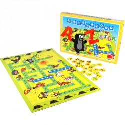 Társasjáték - Kisvakond és a betűk Logikai játékok