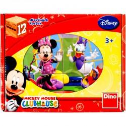 Fa mesekocka 12 db - Mickey egér Készségfejlesztő játékok Dino