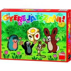 Társasjáték - Kisvakond Gyere játszani! Szórakoztató játékok Dino