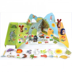 Társasjáték - A Kisvakond Kertje Szórakoztató játékok Dino