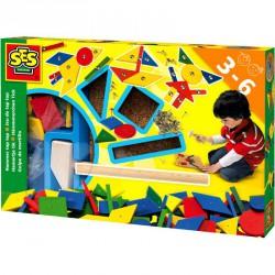 Mozaik képkirakó kalapáccsal Egyéb játékok SES Creative