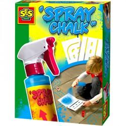 Kréta spray - kék Színező SES Creative