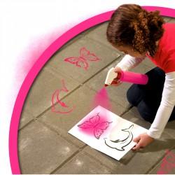 Kréta spray - pink Színező SES Creative