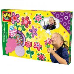 Vasalható gyöngy - 2400 db illatos virágok Kreatív készletek SES Creative
