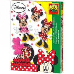 Vasalható gyöngy szett - Minnie egér 1200 db Kreatív készletek SES Creative