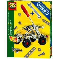 Fém építőjáték - autó Építőjátékok SES Creative