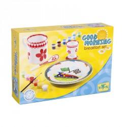 Porcelán reggeliző szett Háztartási kellékek Totum