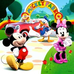 Puzzle 3IN1 - Mickey egér játszóháza Ravensburger Puzzle Ravensburger