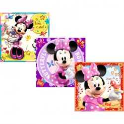 Puzzle 3IN1 - Minnie Ravensburger Puzzle Ravensburger