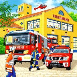 Puzzle 3x49 db - Tűzoltók Ravensburger Puzzle Ravensburger