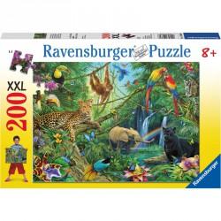 Puzzle 200XXL - Dzsungel Ravensburger Puzzle Ravensburger