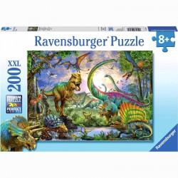Puzzle 200XXL - Dinoszaurusz Ravensburger Puzzle Ravensburger