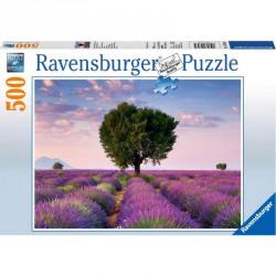 Puzzle 500 db - Levendula mező Ravensburger Puzzle Ravensburger