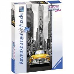 Puzzle 1000 db panoráma Taxi New Yorkban Ravensburger Puzzle Ravensburger