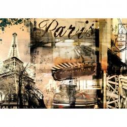 Puzzle 1000 db - Párizs anno Ravensburger Puzzle Ravensburger