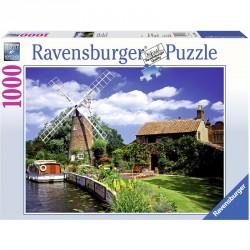 Puzzle 1000 db - Szélmalom Ravensburger Puzzle Ravensburger