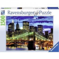 Puzzle 1500 db - New York fényei Ravensburger Puzzle Ravensburger