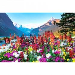 Puzzle 3000 db Virágzó hegyvidék panoráma Ravensburger Puzzle Ravensburger