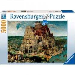 Puzzle 5000 db - Brueghel: Bábel torony Ravensburger Puzzle Ravensburger