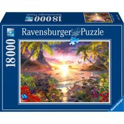 Puzzle 18000 db - Édenkert Ravensburger Puzzle Ravensburger